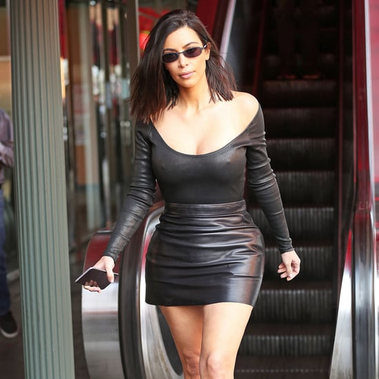 Kim Kardashian Wearing Tiny Sunglasses