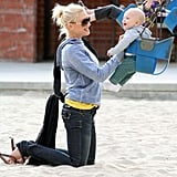 Gwen and Gavin Take The Kids to the Park
