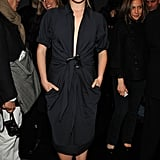 Rachael took a front row seat at Donna Karan Collection at NYFW in Feb. 2008.