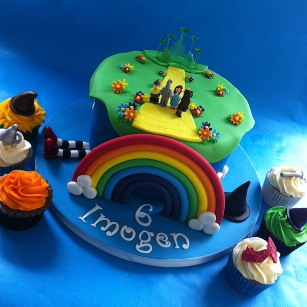 Wizard of Oz Birthday Cakes