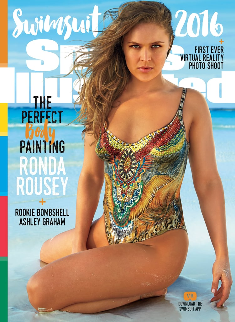 Ronda Rousey's Sports Illustrated Swimsuit Cover