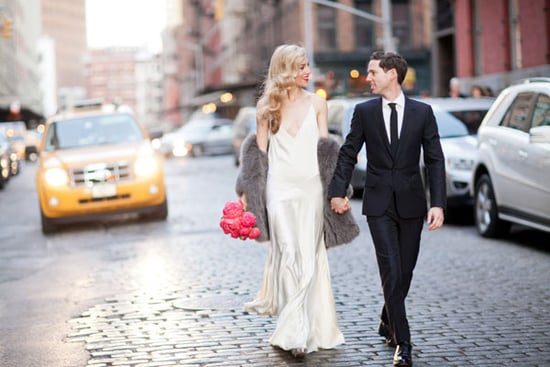 See Pictures of Harper's Bazaar Fashion Editor Joanna Hillman's Rochas Wedding Dress and Wedding!