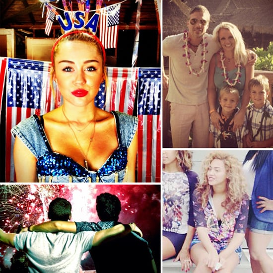 Celebrity Social Media Pictures Week 4th of July
