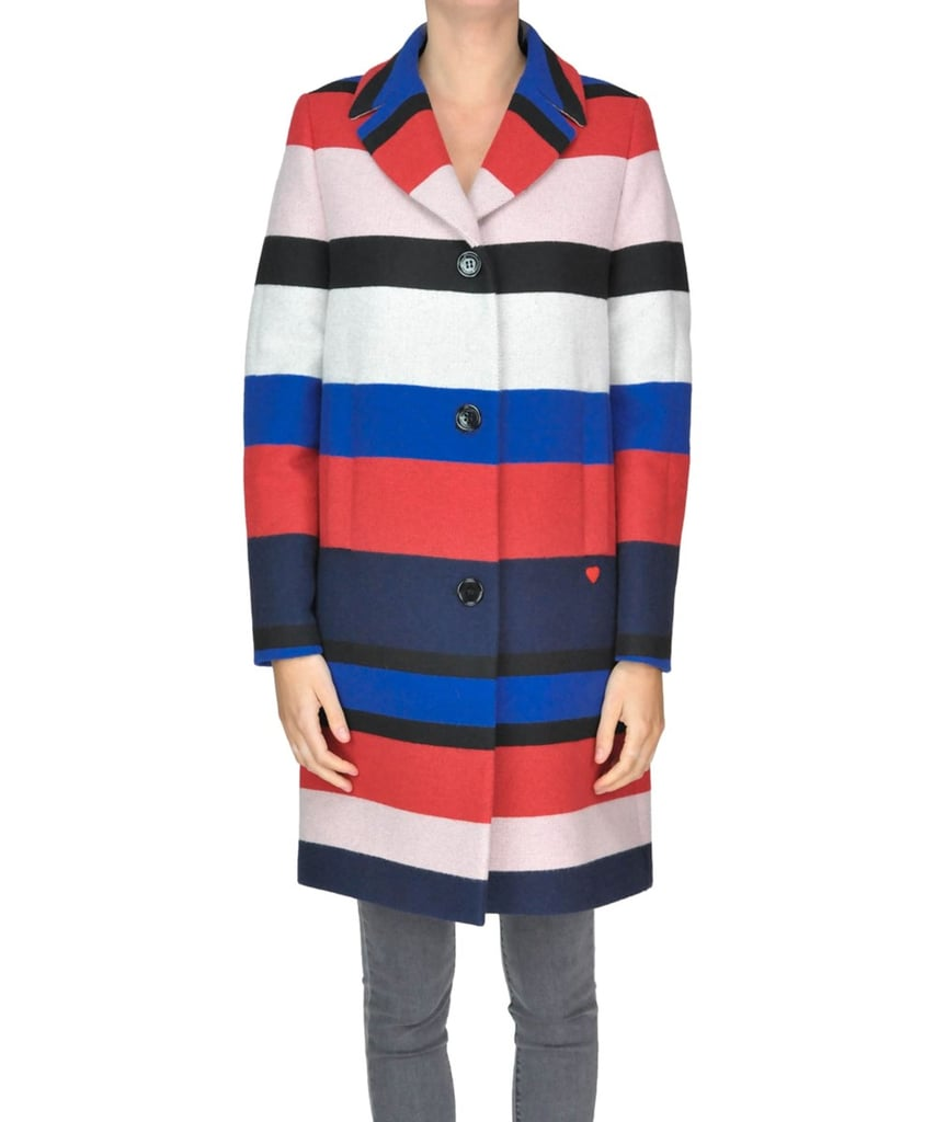 Love Moschino Multicolor Acrylic Coat