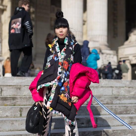 Rainbow Coats Trend 2018