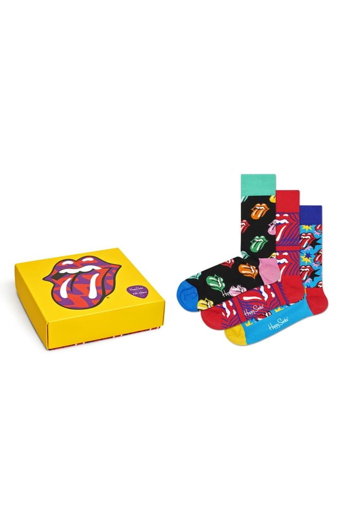 Happy Socks x Rolling Stones Assorted 3-Pack Gift Box