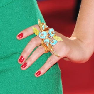 Celebrities' Nails at the 2010 Primetime Emmy Awards