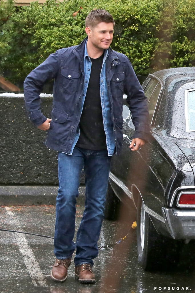 Jensen Ackles Filming Supernatural in Vancouver