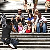Klum-Samuel Family Vacation