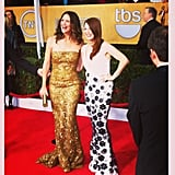 Jennifer Garner and Julianne Moore were double trouble on the red carpet for the SAG Awards.