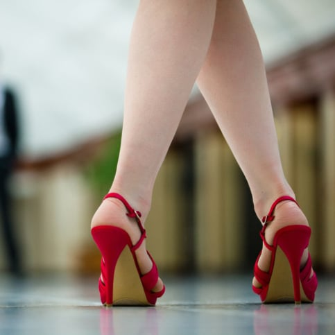 an analysis of the topic of the high heels As women began wearing high heels, male heels slowly became shorter and fatter as female heels grew taller and  what is the difference between sex and gender.