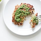 Chicken Hash Brown Patties With Pesto