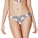 GUESS Gingham and Floral Top ($49) and Print Brazilian Bikini Bottoms ($49)