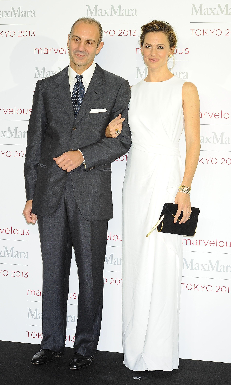 Jennifer Garner joined Luigi Maramotti in Tokyo for Max Mara's event.