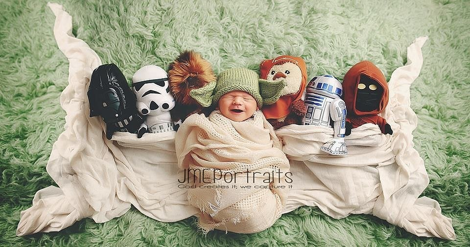 Geeky Baby Photo Shoots