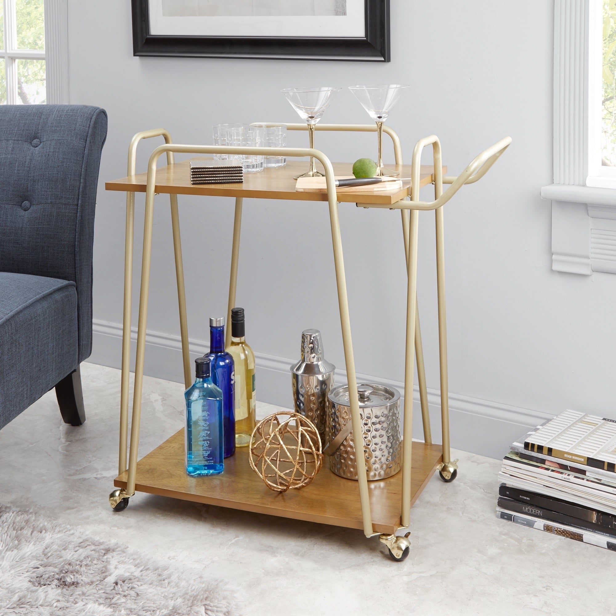 Best Bar Carts Under 100 Popsugar Home