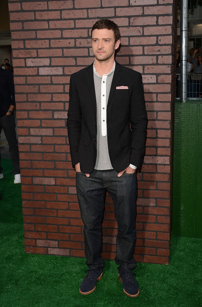 Justin Timberlake was on hand for the premiere of Trouble With the Curve in LA.
