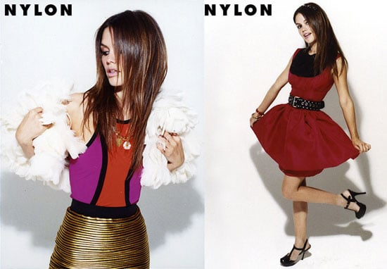 Rachel Bilson Shows Off Her Nylon Style and Love For Pigs