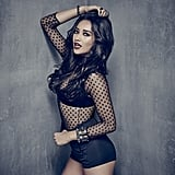 We're assuming Emily loves this sheer bodysuit as much as Shay Mitchell loves one-pieces.