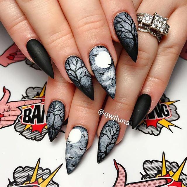 - Halloween Nail Art POPSUGAR Beauty