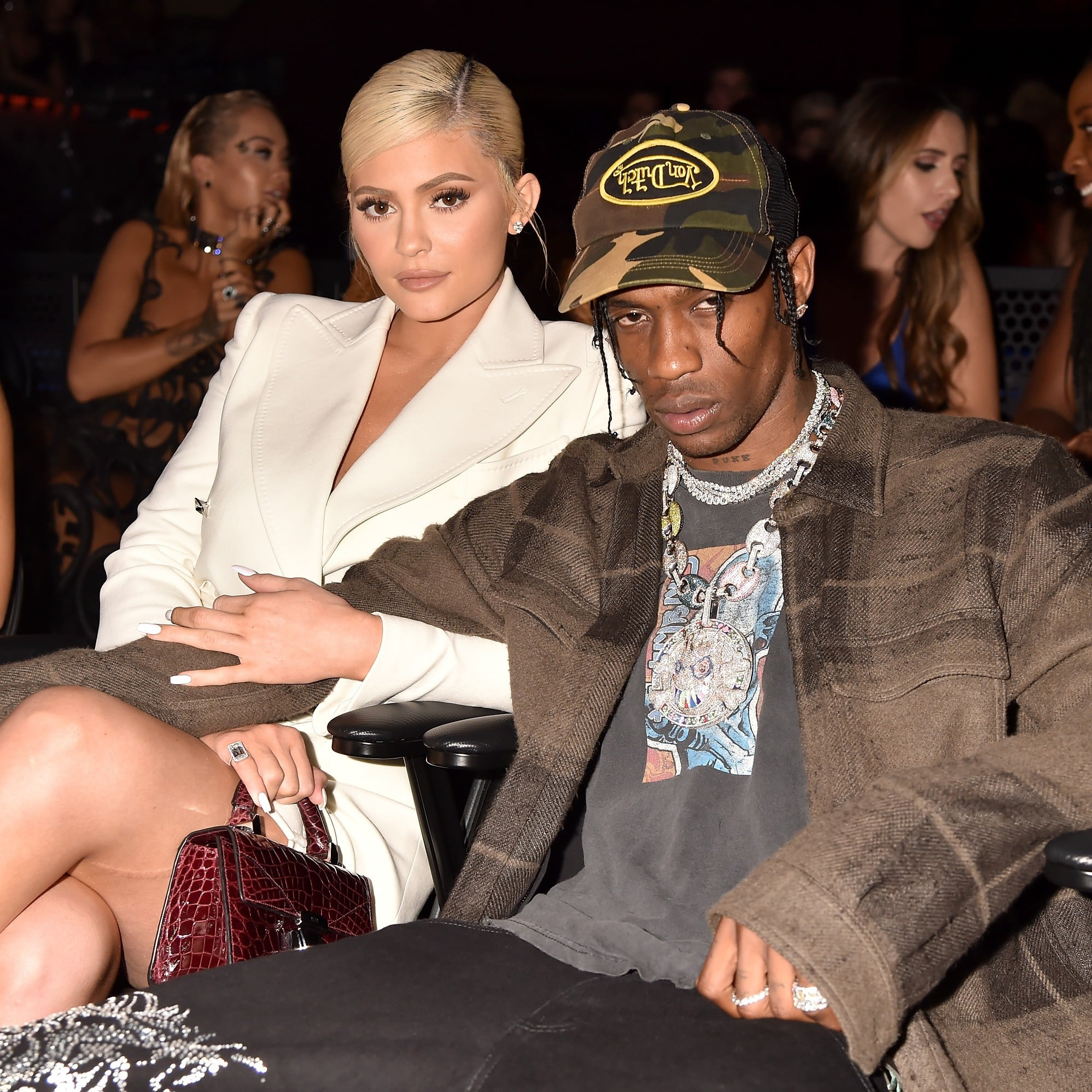 5ba97ac30f13 Kylie Jenner and Travis Scott at the 2018 MTV VMAs