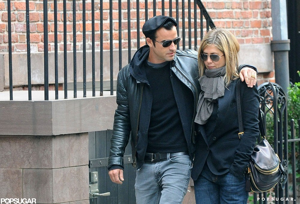 They cuddled up for a romantic walk through NYC in September 2011.