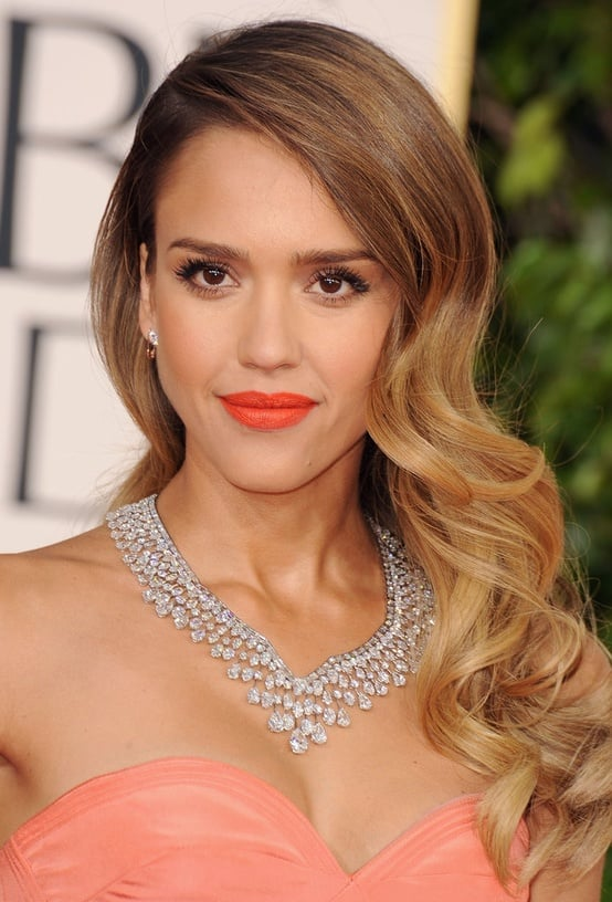Jessica Alba's Retro Waves