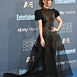 Kate Beckinsale's Dress at Critics' Choice Awards 2017