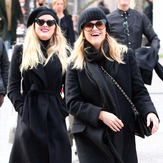 Reese Witherspoon and Ava Phillippe Shopping in Paris 2017