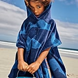 Boden Towelling Poncho