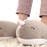 Narwhal Heated Slippers