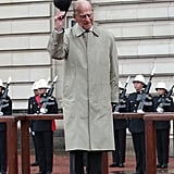 Prince Philip attended his last official royal appearance before retiring.