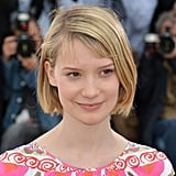 Mia Wasikowska at the Lawless Photocall