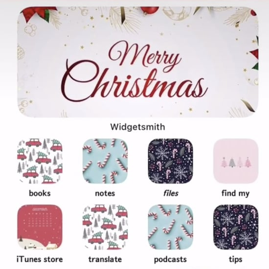Christmas iOS 14 Home-Screen Aesthetic Ideas