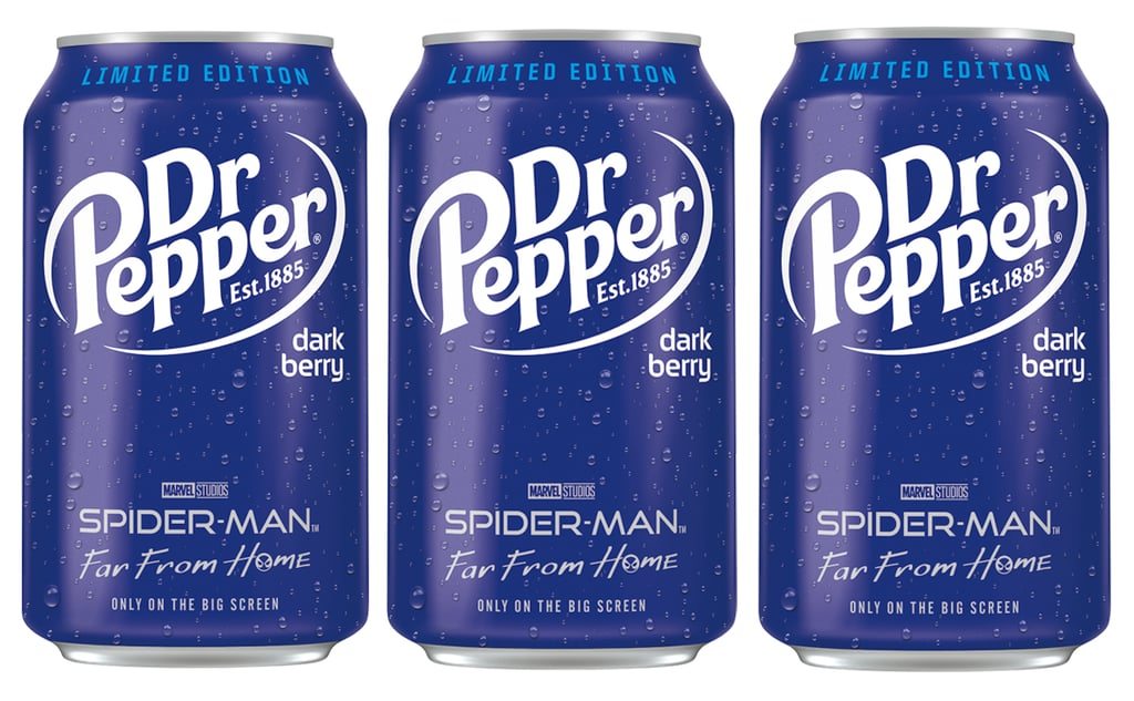 The classic taste of Dr Pepper is getting a dark (and fruity) update. For the first time in five years, the soda brand is rolling out an all-new flavor called Dark Berry that'll make your taste buds go crazy.  Despite its name, Dr Pepper Dark Berry wasn't designed to taste just like one specific berry. The limited-edition drink will blend the taste of classic Dr Pepper soda with blackberry, black currant, and black cherry flavors, and it appears to be inspired by the upcoming release of Spider-Man: Far From Home, which makes its theatrical debut on July 5. Dark Berry comes in special packaging that features Spider-Man imagery and will be available at grocery stores nationwide starting May 1. Considering how popular cherry-flavored Dr Pepper is, this is another one that you might want to try to get your hands on before it's too late.      Related:                                                                                                           Pepsi's New Fruity Flavors Are Basically Summer in a Can