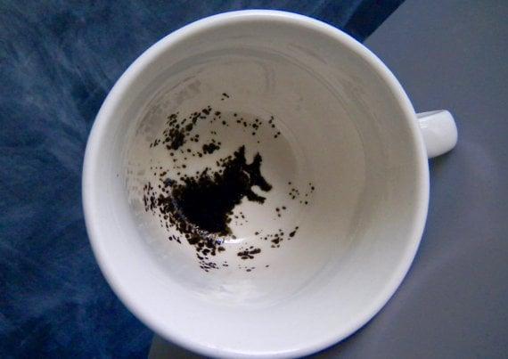 Harry Potter Grim-inspired teacup