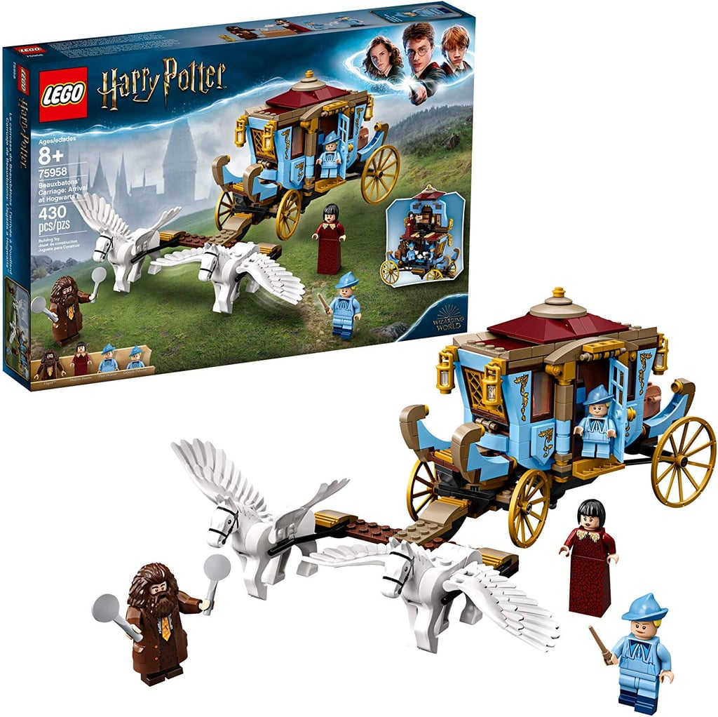Lego Harry Potter and the Goblet of Fire: Beauxbatons' Carriage Arrival at Hogwarts
