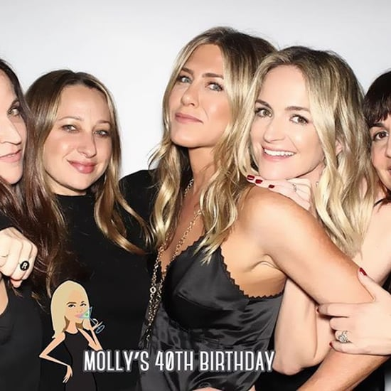 Jennifer Aniston at Molly McNearney's Birthday Party 2018