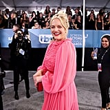 Elisabeth Moss at the 2020 SAG Awards