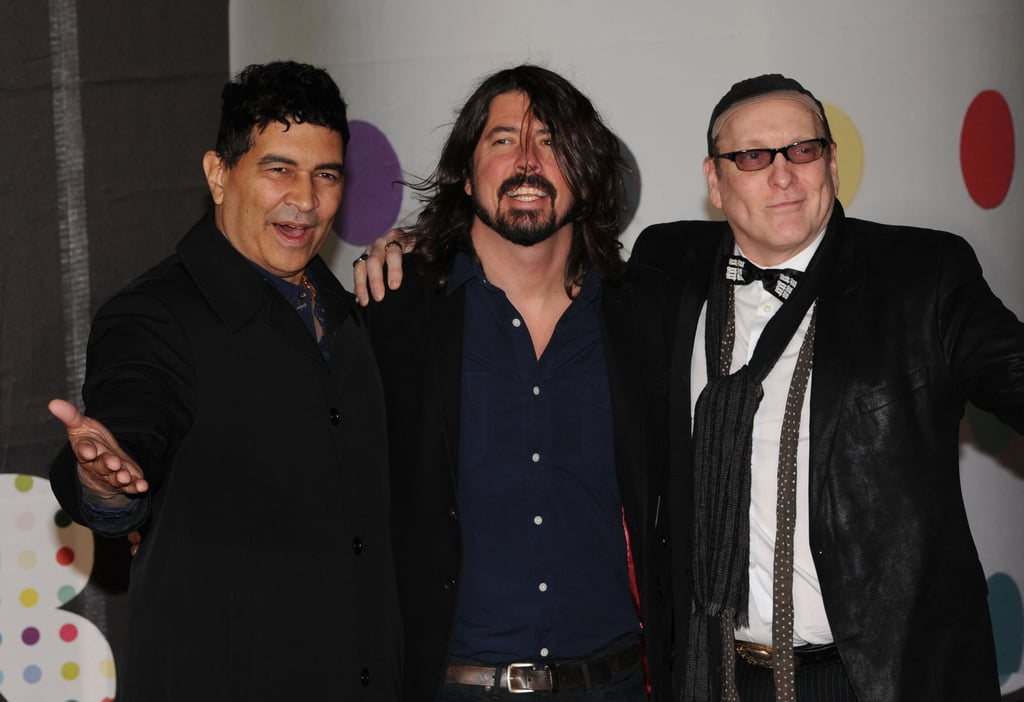 Dave Grohl and the Sound City Players hung out together on the carpet.