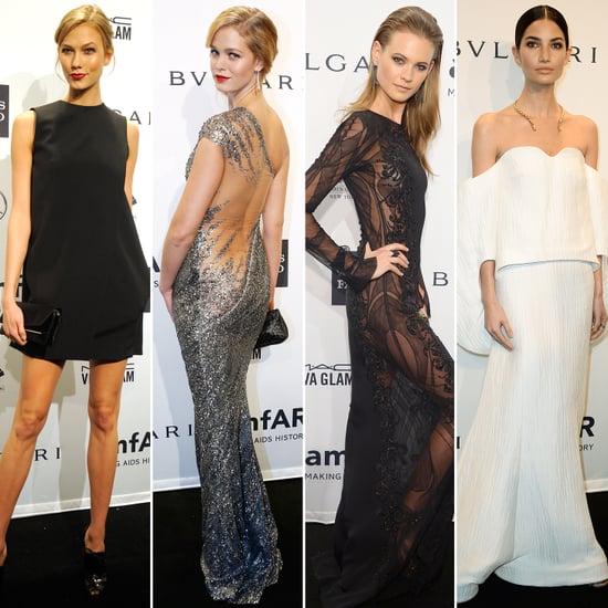 Karlie Kloss Dress at amfAR Gala