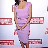 Eva Longoria made several appearances the weekend before President Obama's inauguration, including The Daily Beast Bi-Partisan Inauguration Brunch in DC Sunday.