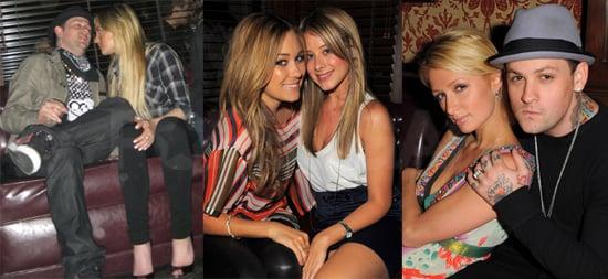 Lindsay Lohan, Paris Hilton, Lauren Conrad, Lo Bosworth at Hornitos Cinco De Mayo Party, Crown Bar, LA