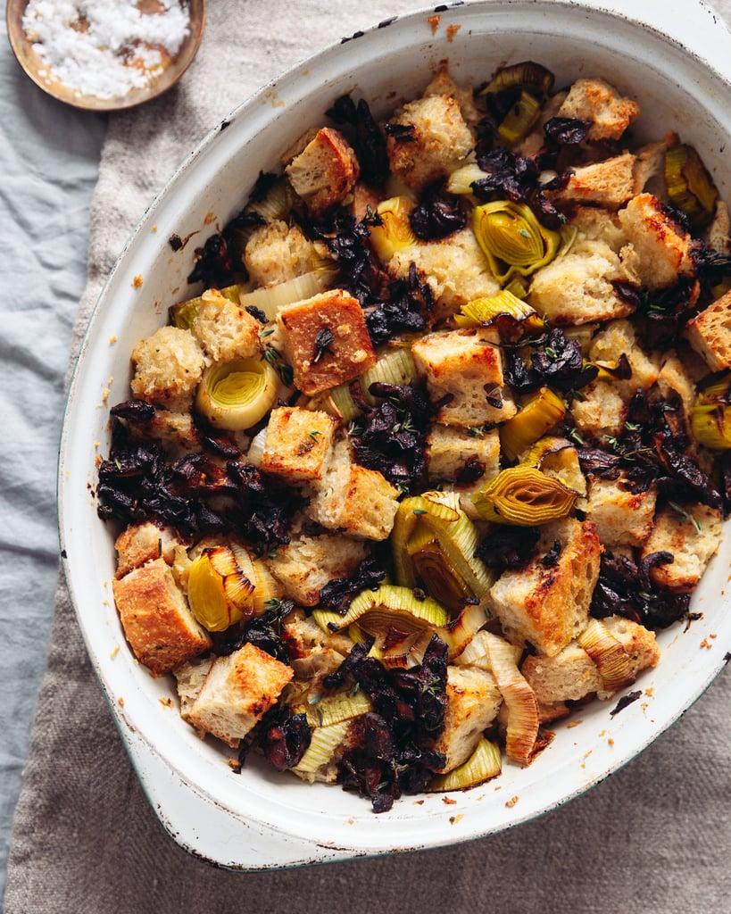 Simple Garlicky Vegan Sourdough Stuffing