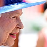Queen Elizabeth II looked to be in high spirits at the 2007 derby.