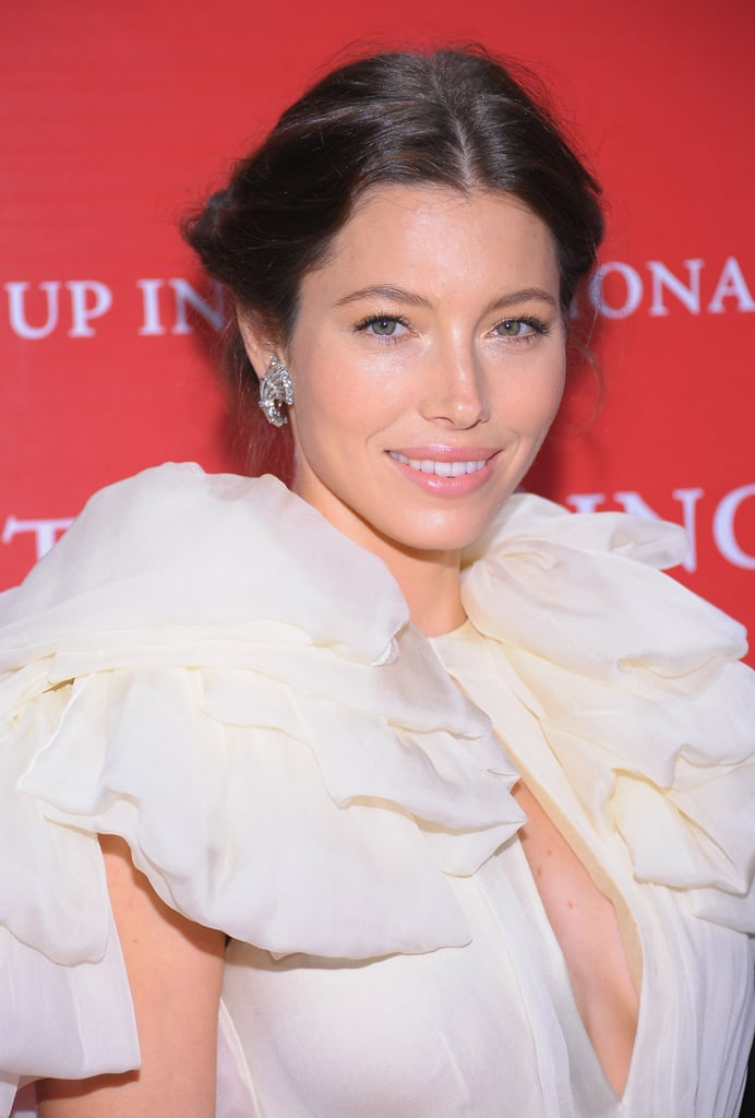 Jessica Biel at Fashion Group International's 28th annual Night of Stars at Cipriani Wall Street.