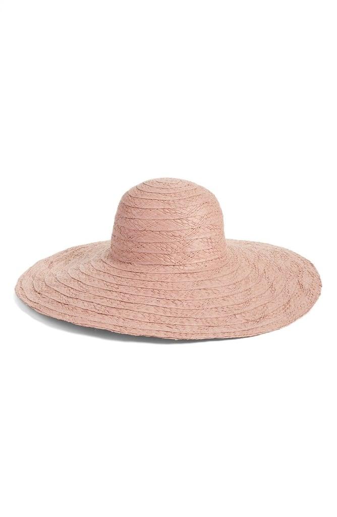 Hinge Floppy Straw Hat ($38)