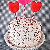 Pink Velvet Valentine's Day Cake