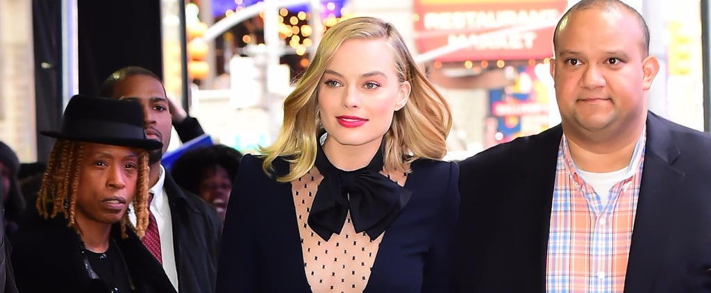Margot Robbie's Navy Givenchy Minidress