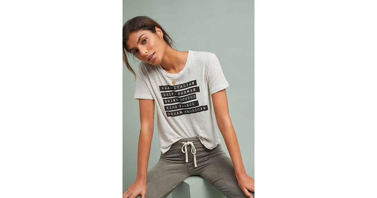 f189a33d1 Sundry Dream American Graphic Tee | Best Loungewear For Winter | POPSUGAR  Love & Sex Photo 27